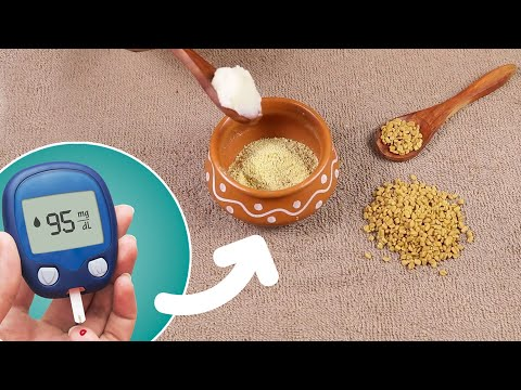 Easy Way to Control Diabetes | Home Remedy for Diabetes | Fenugreek Seeds Powder Remedy For Diabetes