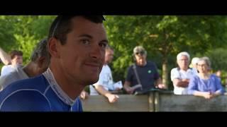 Anthony Roux et le maillot bleu-blanc-rouge