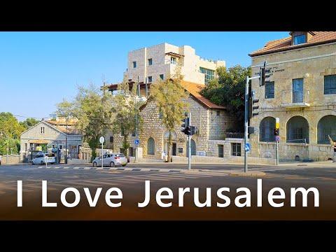 Walk Near The Great SYNAGOGUE Of JERUSALEM