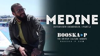 Médine : « Pour moi, la Trap est en train de sauver le Rap... » [Interview 2/3]