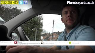 FROM THE VAN - THE LIFE OF A PLUMBER - Pricing Jobs, Customers, Van Mirror and more!