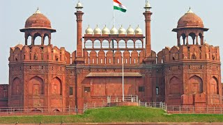 Visiting The Red Fort, Fortress in Chandni Chowk, New Delhi, Delhi, India