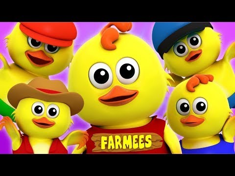 Nursery Rhymes For Kids | Cartoon Videos & Baby Songs For Toddlers | Farmees