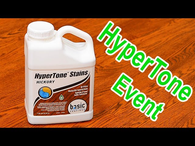 Basic Coatings HyperTone Stains | Demo at City Floor Supply