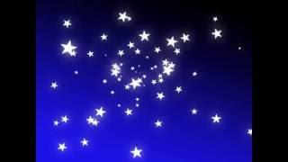 Фон футаж Звездное небо скачать бесплатно