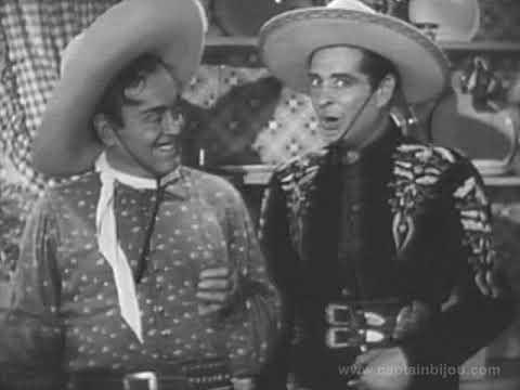 1951 CISCO KID WEBER'S BREAD COMMERCIAL  Duncan Renaldo, Leo Carrillo