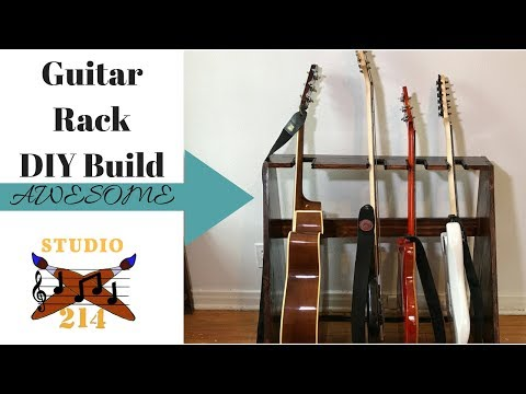 Guitar Rack Build - DIY Woodworking Project