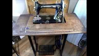 Portable Treadle Sewing-machine Cabinet