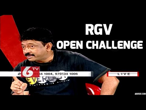RGV Open Challenge - Debate with critics on how to make movies