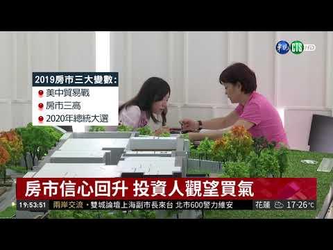 2019房市預測 三大變數恐影響房價   華視新聞 20181219