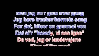 Teddy Edelmann - Den Frie Fugl - Lyrics