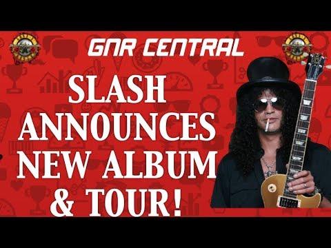 Guns N' Roses News: Slash Announces Living the Dream Album Release & Tour  Dates