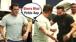 Salman Khan's Kind Gesture For His Bodyguard Shera At Airport Will Melt Your Heart