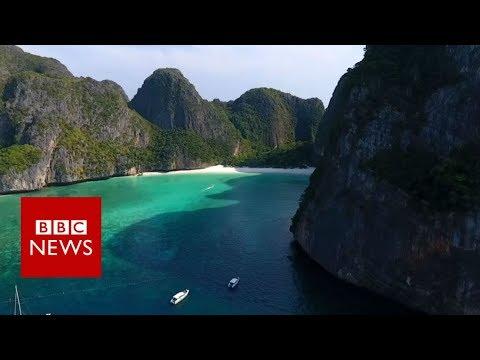Maya Bay: The beach nobody can touch - BBC News