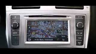 Video dell'elegante nuova Toyota Avensis 2012