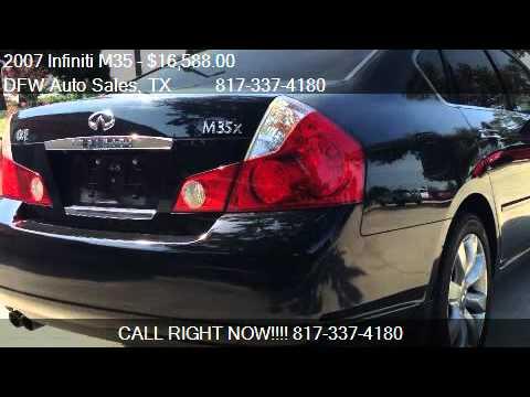 2007 Infiniti M35 35 Awd For Sale In Keller Tx 76248 Youtube