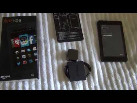 Amazon Fire HD 6 Tablet Overview / Review