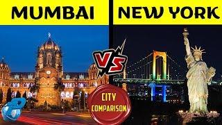 Placify: Mumbai VS New York | City Comparison | मुंबई VS न्यूयॉर्क 2020