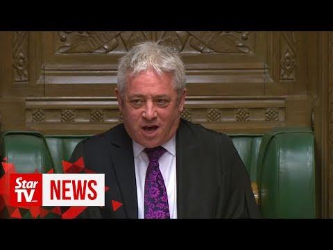 Orderrrrrrrrr! UK parliament