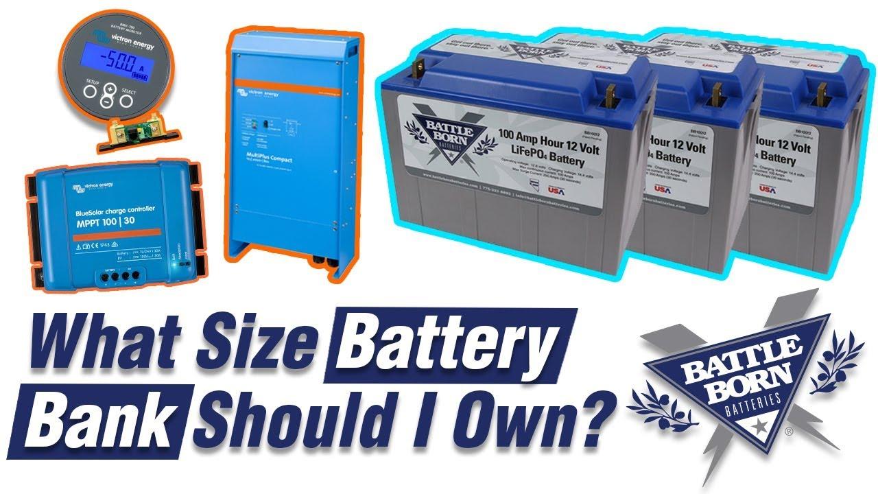 FAQ: How Do You Size a Lithium Battery Bank? | Battle Born Batteries