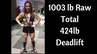 Arnold 2017   1003 lb Raw Powerlifting Total