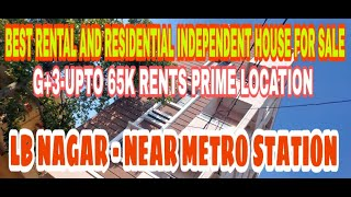 G+3 INDEPENDENT HOUSE FOR SALE…