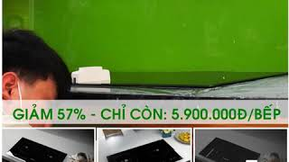 Bếp Kanzler KA-68ii Tiết kiệm 35% điện năng