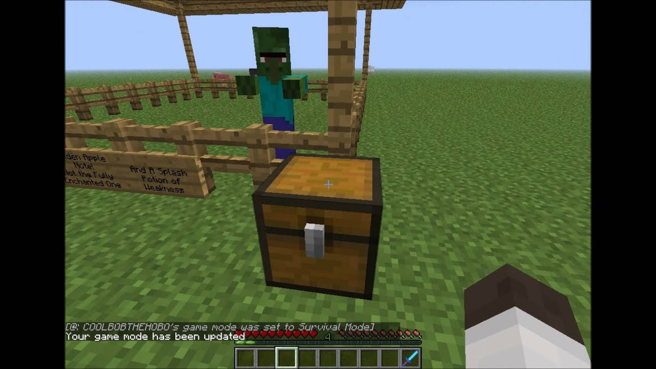 how to make a zombie villager normal