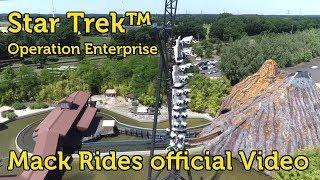 Roller Coaster: Star Trek - Operation Enterprise at Movie Park Germany