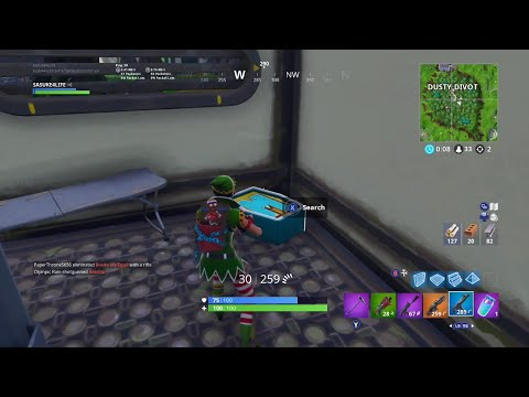 "Fortnite - Search The Letter ""M"" In Dusty Divot Location!"