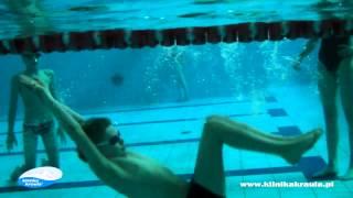 Klinika Kraula   start, nawrót, pływanie pod wodą