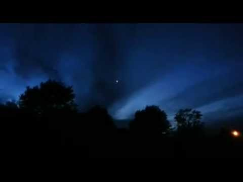 UFO over Rudolph, Ohio on 26th May 2013