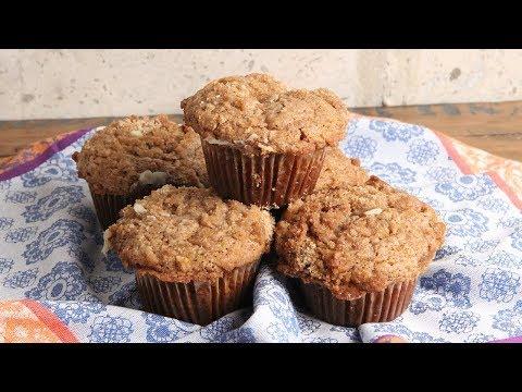 Cream Cheese Stuffed Pumpkin Muffins | Episode 1193