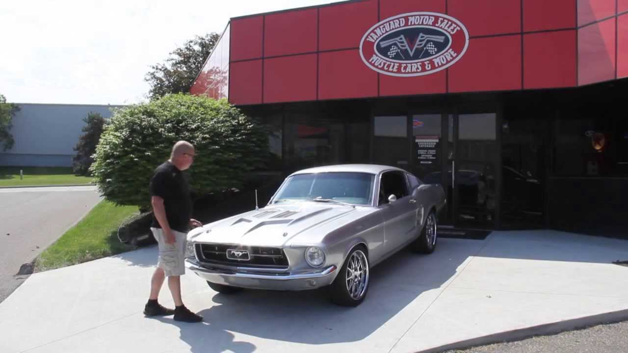 65 fastback ford mustang mustangs amp rods ford muscle cars for sale - 1967 Ford Mustang Fastback Restomod Classic Muscle Car For Sale In Mi Vanguard Motor Sales
