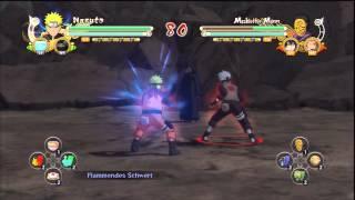 Naruto Shippuden Ultimate Ninja Storm 3 - Team Jutsu Trophy!
