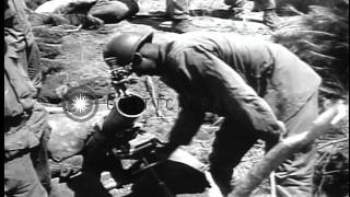 Us Army 24th Infantry In Battle Of Taejon, With General William Dean Hd Stock Footage
