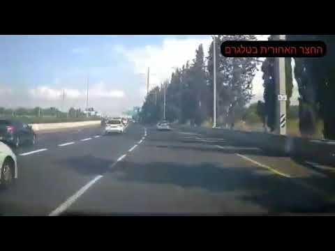 תאונת דרכים מפחידה בכביש 4