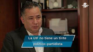 En entrevista con EL UNIVERSAL, Santiago Nieto explicó que estas investigaciones son resultado de lo que planteó el ex director de Pemex, Emilio Lozoya en su denuncia y lo que está haciendo la UIF es corroborar que los datos presentados en esta acusación sean ciertos y prevé que la investigación finalice en tres meses