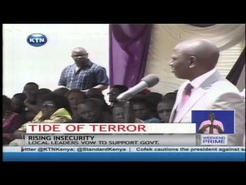 President Kenyatta defends government efforts to deal with insecurity