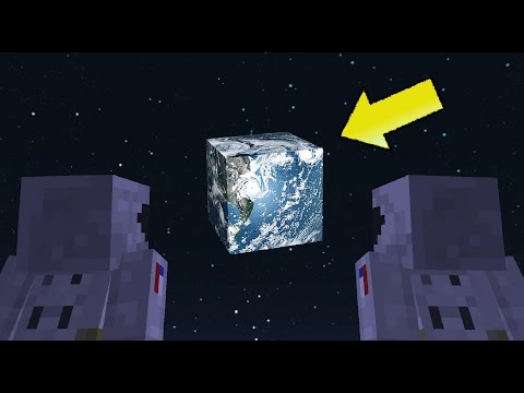 Thumbnail: If You Could Go to the Moon in Minecraft