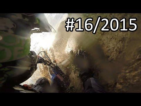 Yamaha WR250F raw on-board   mud and deep puddles # 16/2015