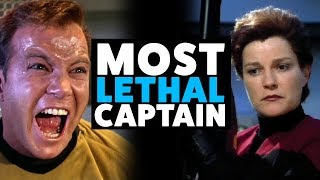 Most LETHAL Star Trek Captains