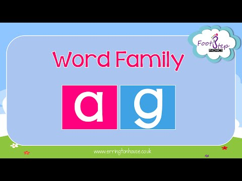 FootStep Phonics - AG Word Family