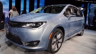 2017 Chrysler Pacifica - 2016 Detroit Auto Show