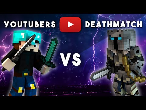 THEDIAMONDMINECART VS POPULARMMOS  - Ultimate YouTubers Deathmatch #3
