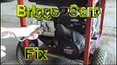 Clean And Repair Nikki Carburetors on Intek Engines | Fix surging