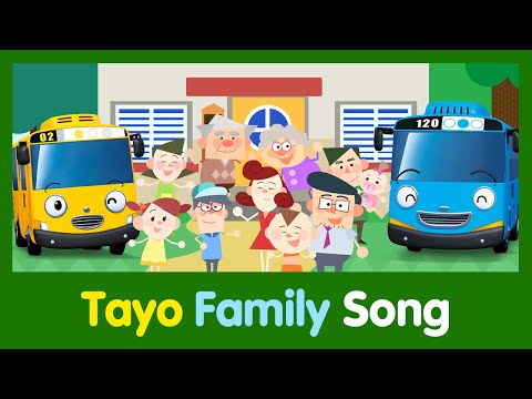 [Tayo Song Series] #02 Family Song