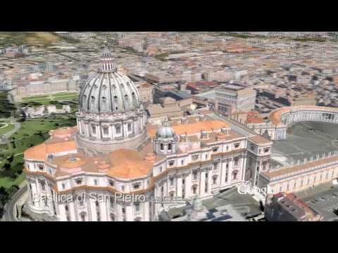 Roma in 3D su Google Earth