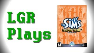 LGR Plays - The Sims Superstar