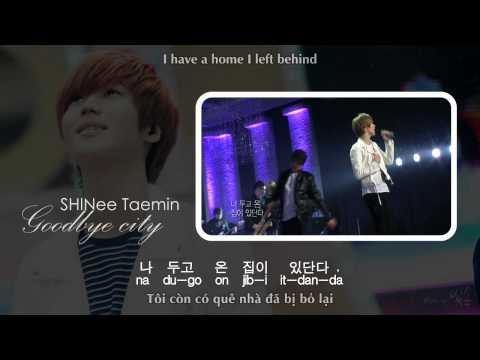 [MP3 DL] SHINee Taemin - Goodbye City [EngSub + VietSub]